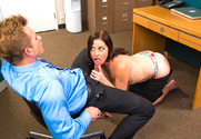 Sovereign Syre & Bill Bailey in Naughty Office