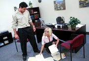 Angelina Ashe & Charles Dera in Naughty Office