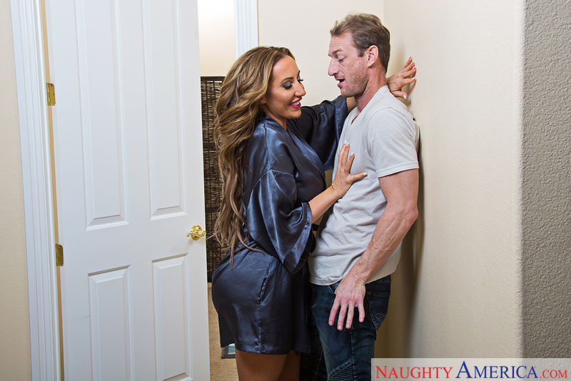 Richelle Ryan fucking in the hallway with her big tits - Sex Position 2