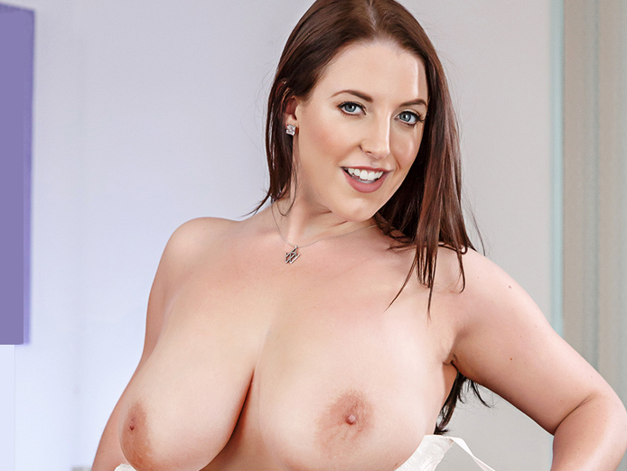 Big tits VR porn video with Angela White